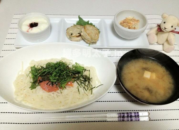 かば田明太子レシピ